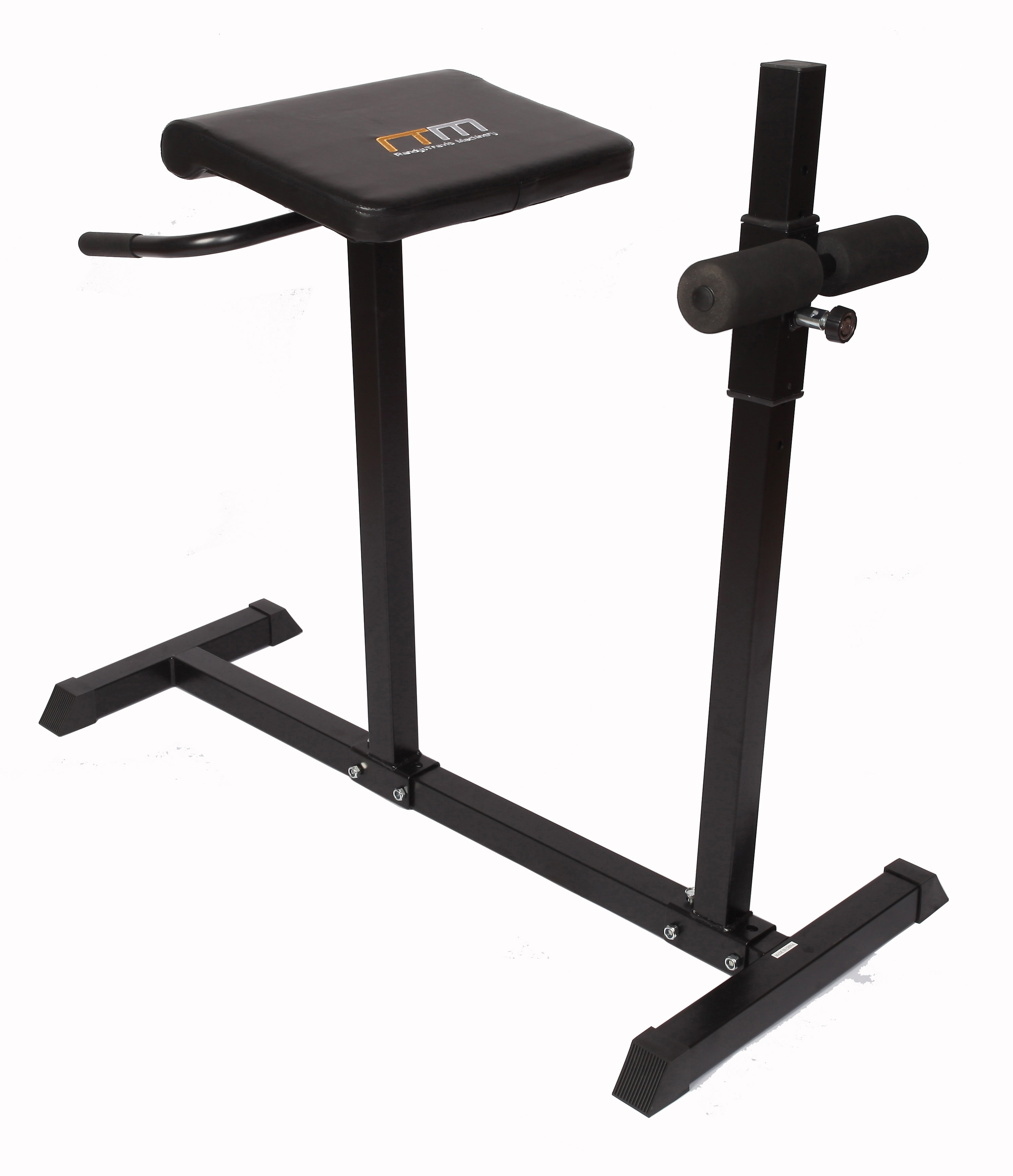Roman Hyper Extension Bench Chair Exercise Fitness Workout Core Abdominal 1