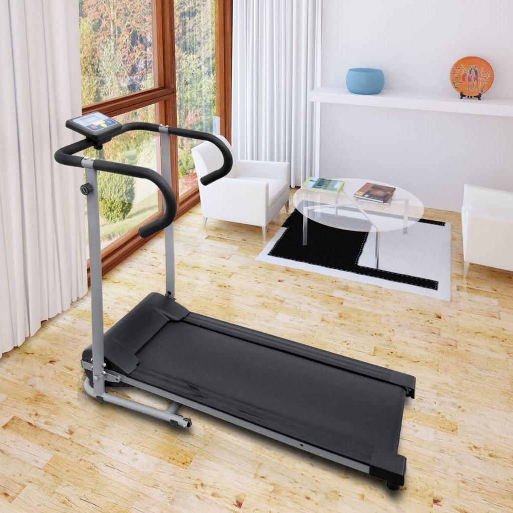 """Electric Treadmill 100x34 cm with 3"""" LCD Display 500 W"""