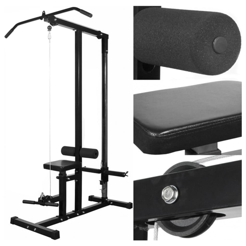 Power Tower with Barbell and Dumbbell Set 30.5 kg