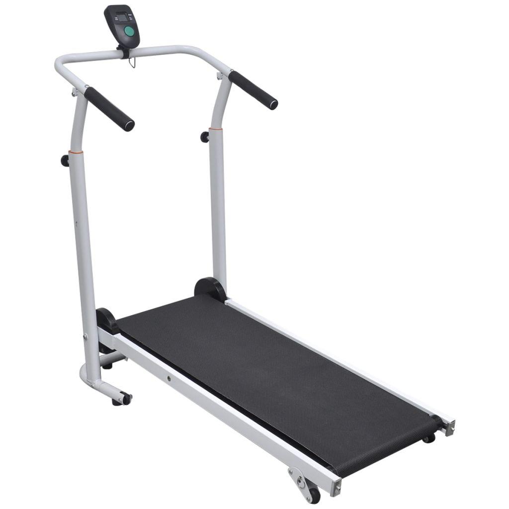 Mini Treadmill Folding 93 x 36 cm Black